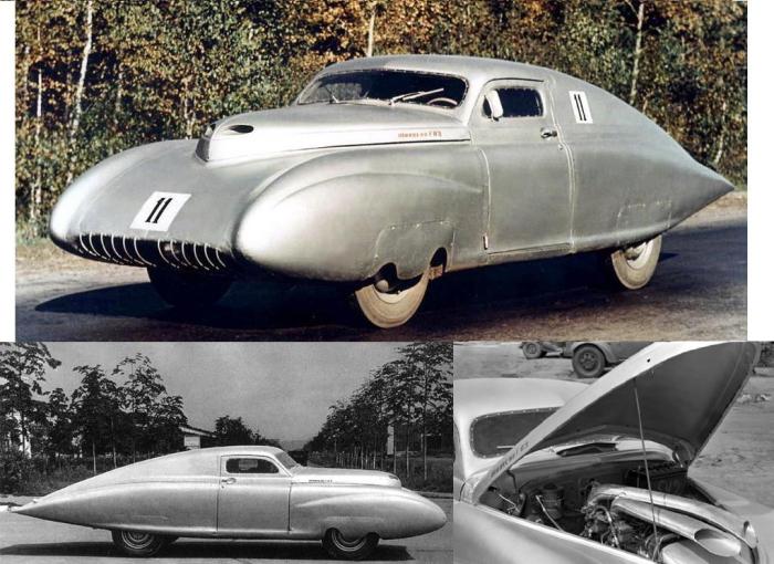 Победа-Спорт – первый советский послевоенный спортивный автомобиль.