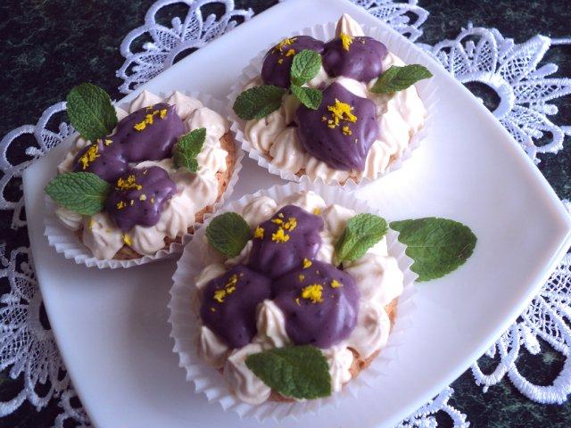 Пирожное «Фиалки». Рецепт Людмилы Головченко