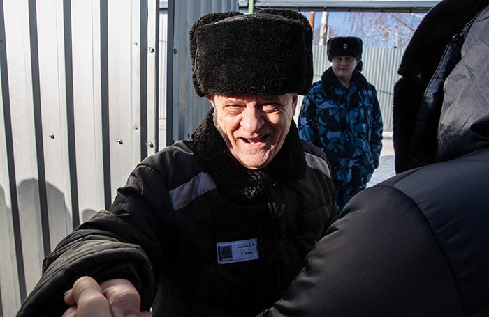 Полковника Квачкова выпустили из колонии