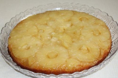 Ананасовый пирог.  Ну очень вкусный!