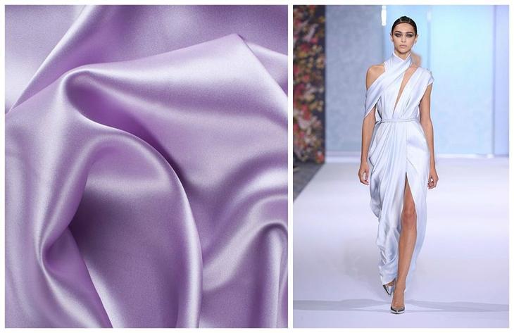Тенденции в текстиле весна-лето 2019 — шелк