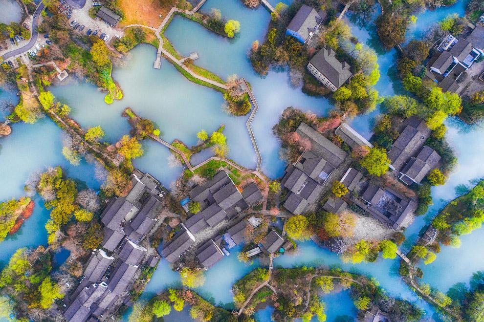 Национальный парк водно-болотных угодий в Ханчжоу