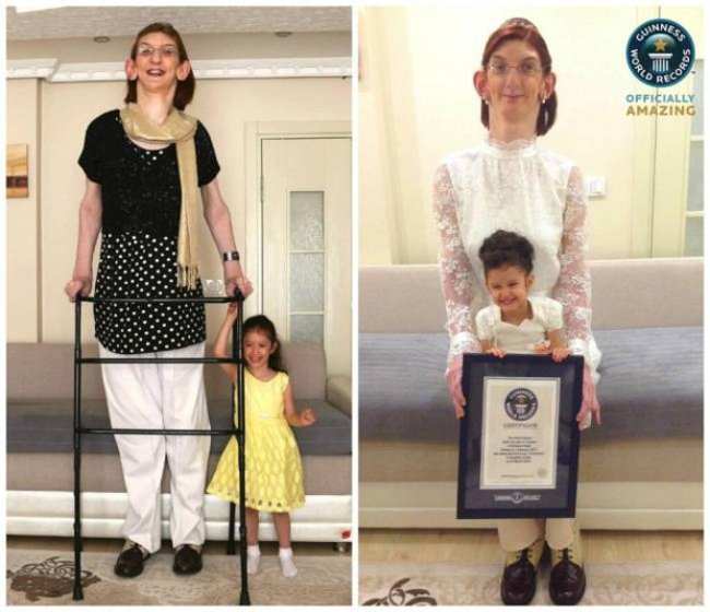 Самая высокая девушка в мире