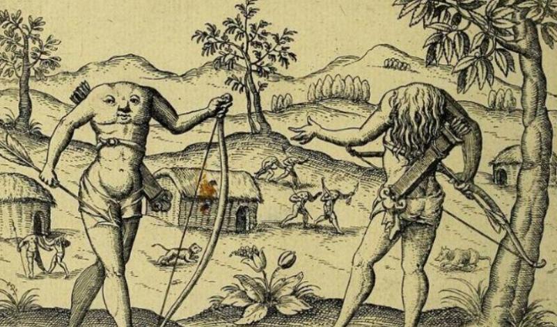 Безголовые люди Африки и другие племена, оказавшиеся реальными