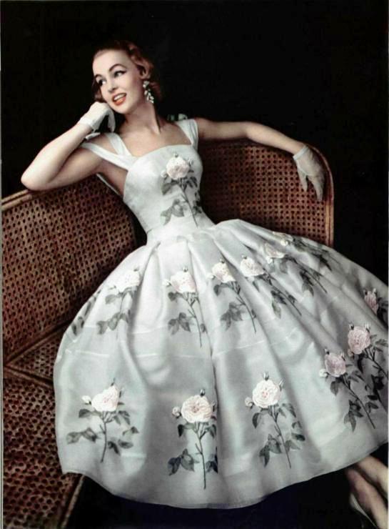 Рафинированная женственность 50-х. Унесенные ветром...