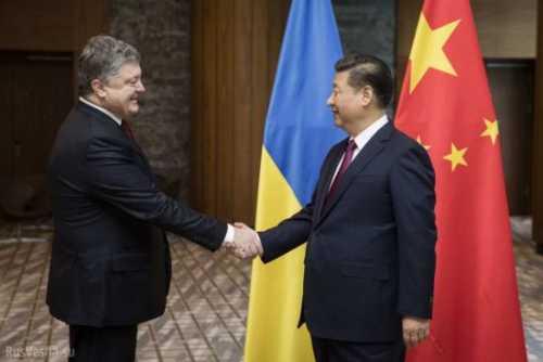 Декоммунизированная Украина хочет дружить с коммунистическим Китаем