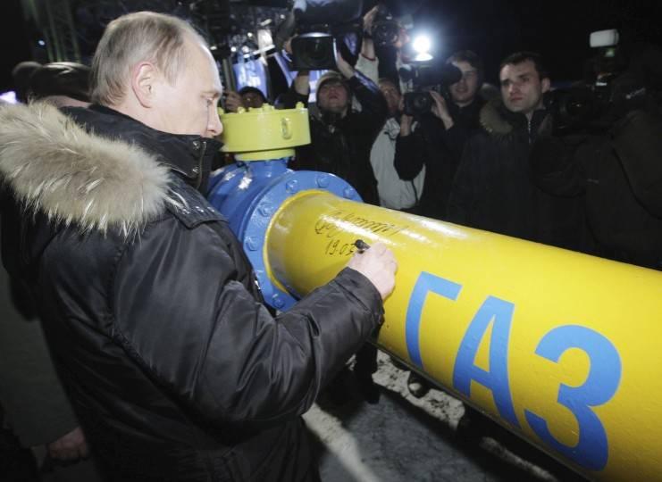 Газовая капитуляция Украины будет подписана в 2019 году