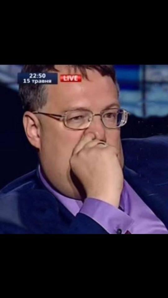 """""""Аж за ушами трещит"""". Геращенко после трапезы в ресторане вылизал тарелку языком"""
