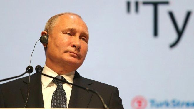 Путин поздравил участников приёма в честь Дня героев Отечества