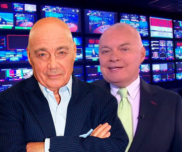 Как телевидение освещало пенсионную реформу в России? Позиция Киселева и Познера