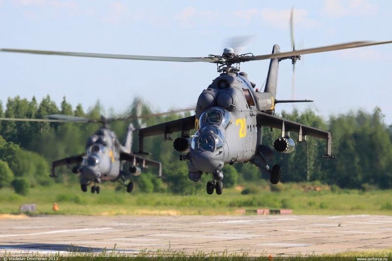 Армейская авиация России отмечает 65-летний юбилей