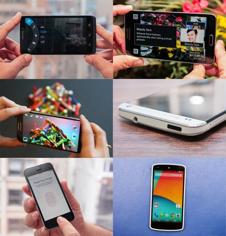 Шесть лучших смартфонов 2013 года