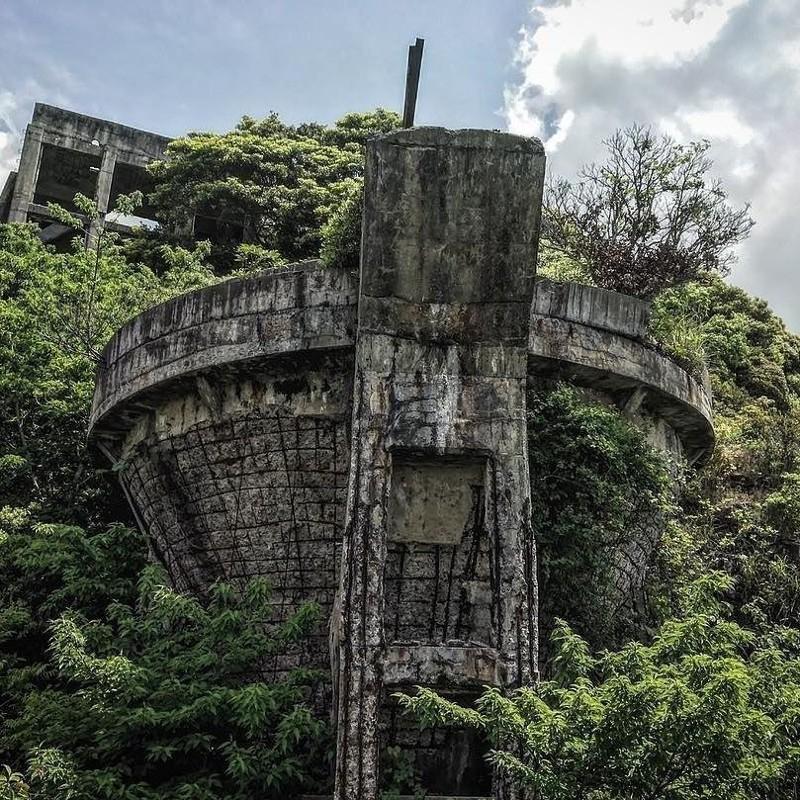 Угольная шахта, Япония заброшенное, красиво, мир без людей, природа берет свое, фото, цивилизация