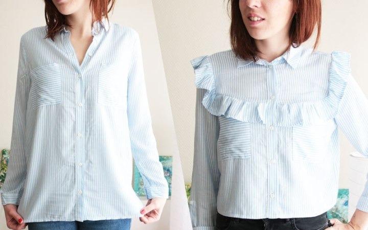 Превращаем простую рубашку в необычную --3 мастер-класса