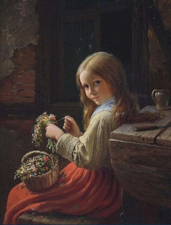 художник Иоганн Георг Майер фон Бремен (Johann Georg Meyer von Bremen) картины – 04