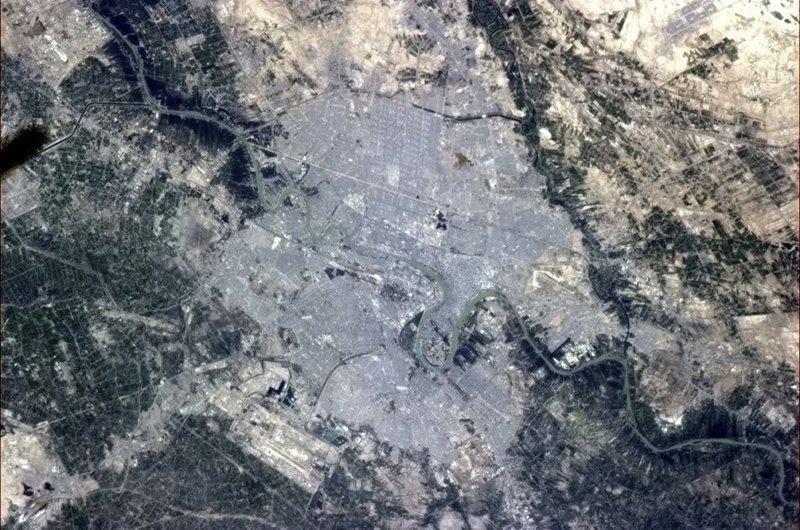 Багдад, Ирак земля, космос, красота, природа, фото