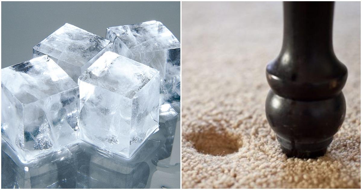 Тандем вилки со льдом — секретное оружие для обновления ковра