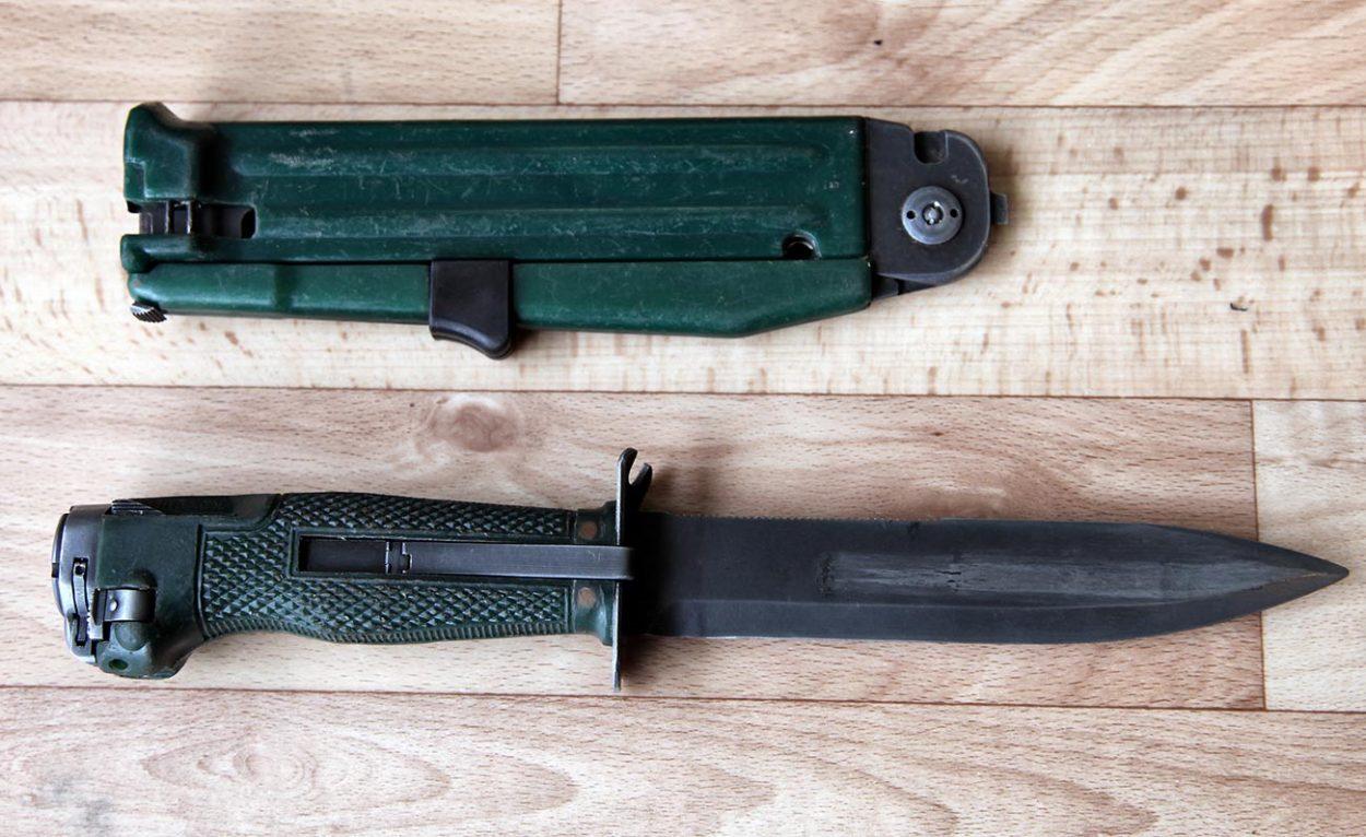 Стреляющие ножи — уникальное…