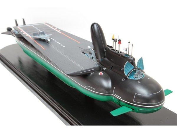 Первый подводный авианосец в мире, который построит Россия