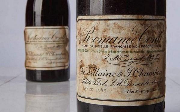 Romanee-Conti 1945 года стало самым дорогим вином в мире, бутылка которого стоит 785.000$
