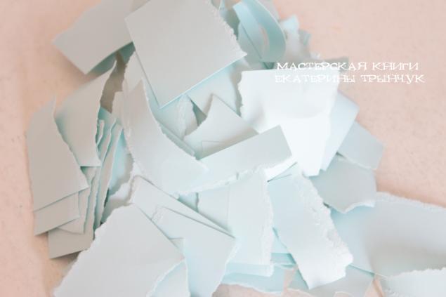 Изготовление бумаги ручной работы
