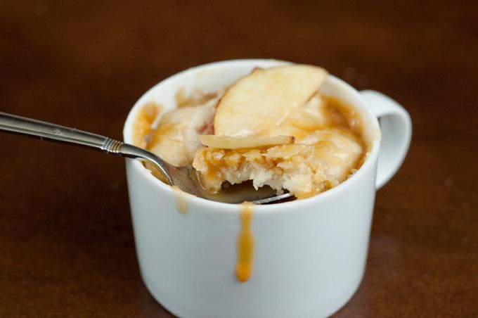 Карамельно-яблочное мороженое