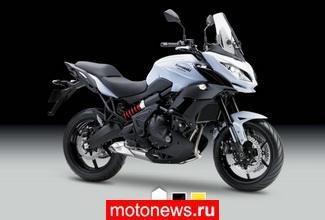 Kawasaki презентовала обновленный мотоцикл Versys 650