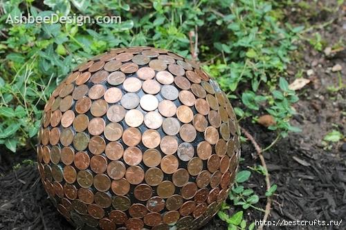 Сделать шар своими руками в саду 690