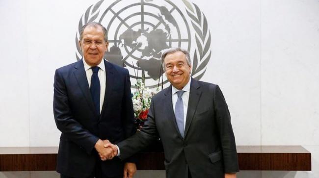 Генсек ООН обсудит сЛавровы…