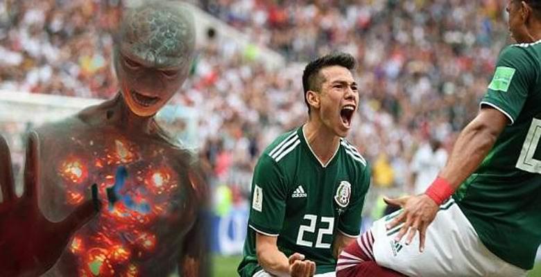 НЛО появился на Чемпионате мира по футболу в России