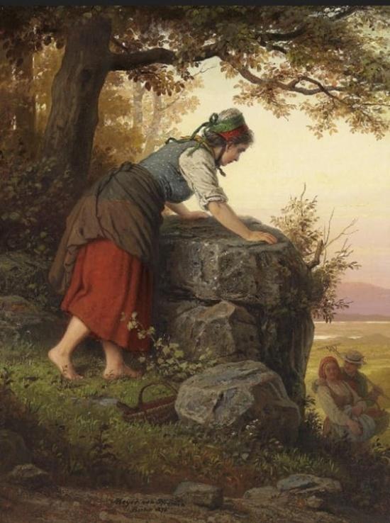художник Иоганн Георг Майер фон Бремен (Johann Georg Meyer von Bremen) картины – 30