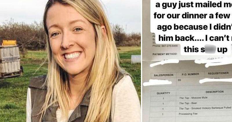 Счет за игнор: парень пригрозил девушке коллекторами, если она не вернет деньги за неудачное свидание