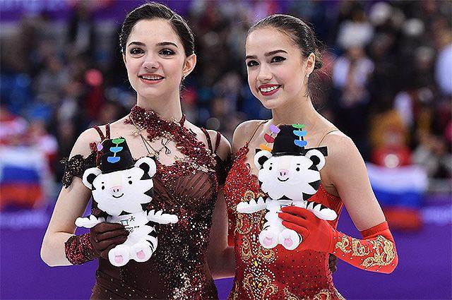 Ах, Алина, ох, Женя… Русские фигуристки – лучшие в мире!
