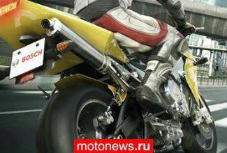 Новая система безопасности для мотоциклов от Bosch