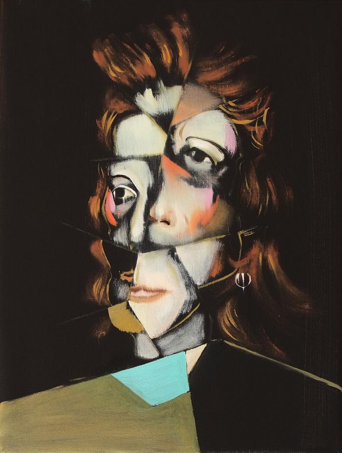 Картины Николая Чистякова. Художник вдохновляется работами Пикассо и других художников начала XX века