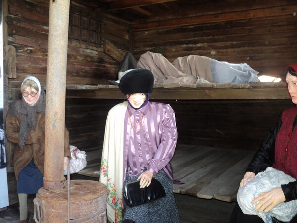 Часть экспозиции музея-мемориала. Источник: wikimedia.org