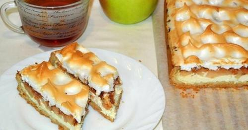 Немецкий яблочный пирог.