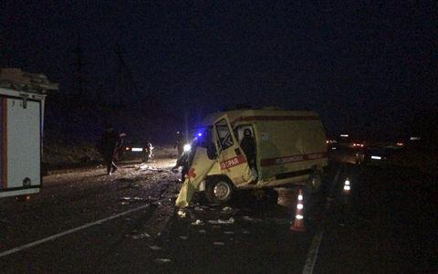 Шесть человек погибли в ДТП с участием скорой помощи