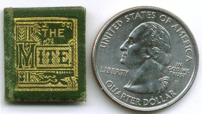 Коллекция миниатюрных книг