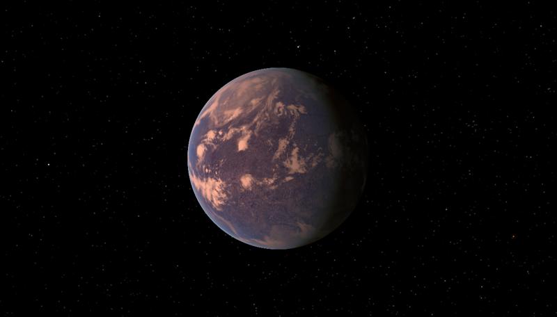 1. Глизе 581 c - потенциально обитаемая планета  вселенная, интересное, космос, подборка, экзопланета