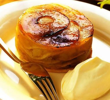 Простые десерты из яблок