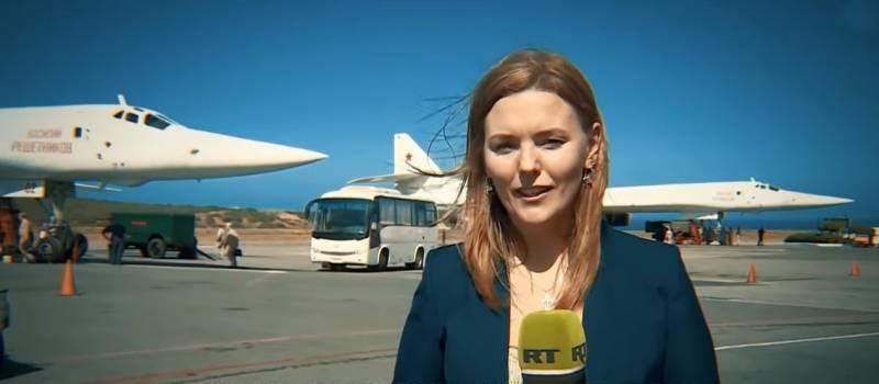 Взгляд с Запада: СМИ впечатлены бесстрашием журналистки, встретившей Ту-160