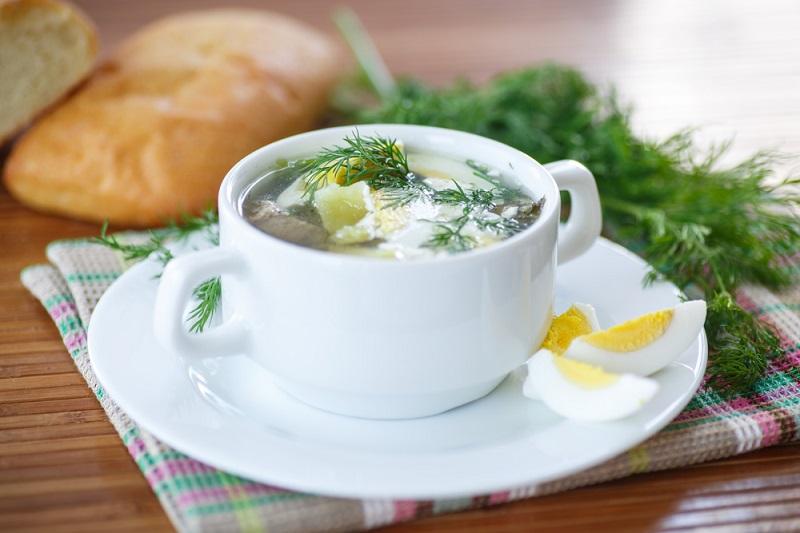 Щавелевый суп — летнее блюдо русской кухни!