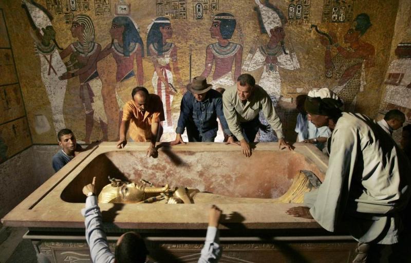 проклятие гробницы тутанхамона смотреть фильм онлайн