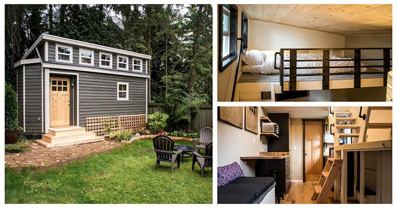 Этот крошечный домик позволит уютно отдохнуть от городской суеты