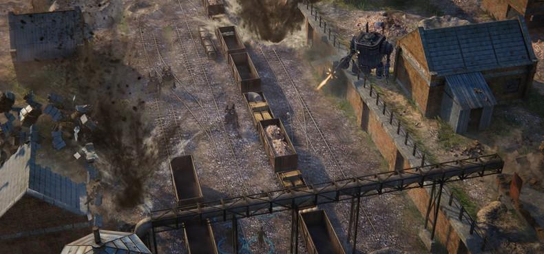 Появился первый геймплей RTS Iron Harvest