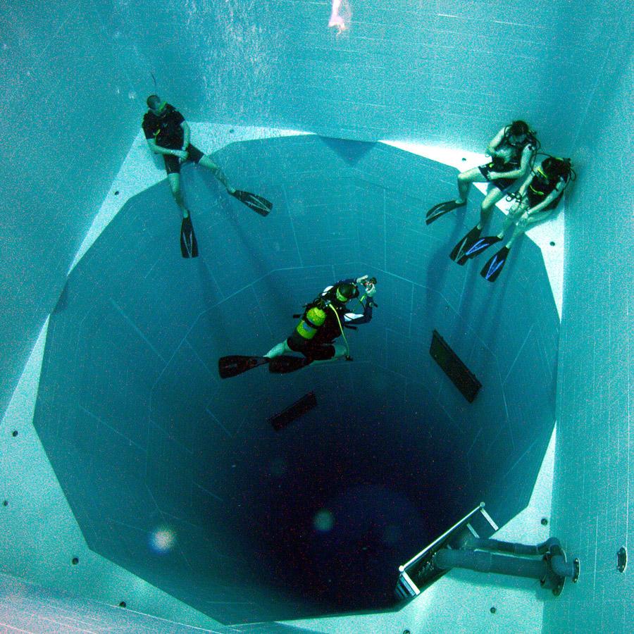 deepest 1 Самый глубокий бассейн в мире