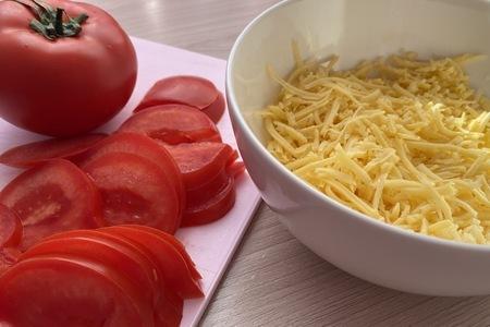 Запеченный багет с курицей и грибами: фото шаг 2