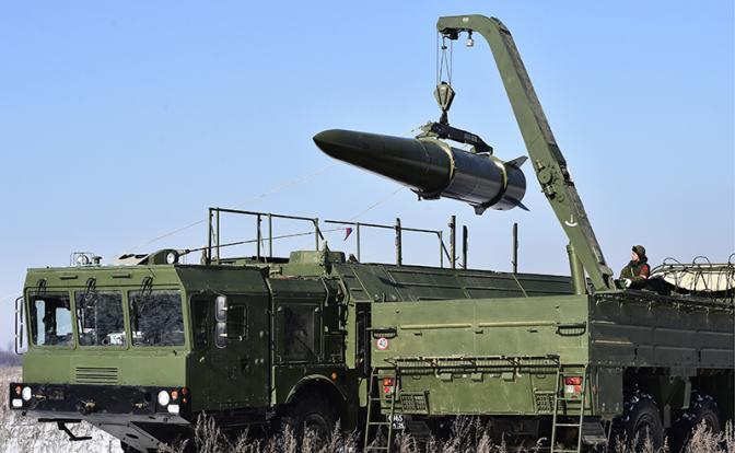 Третья ракета «Искандера»