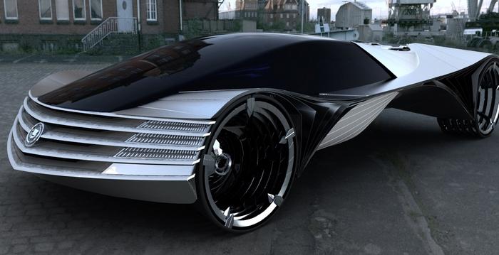 Концепт атомного автомобиля, который может работать 100 лет без заправки